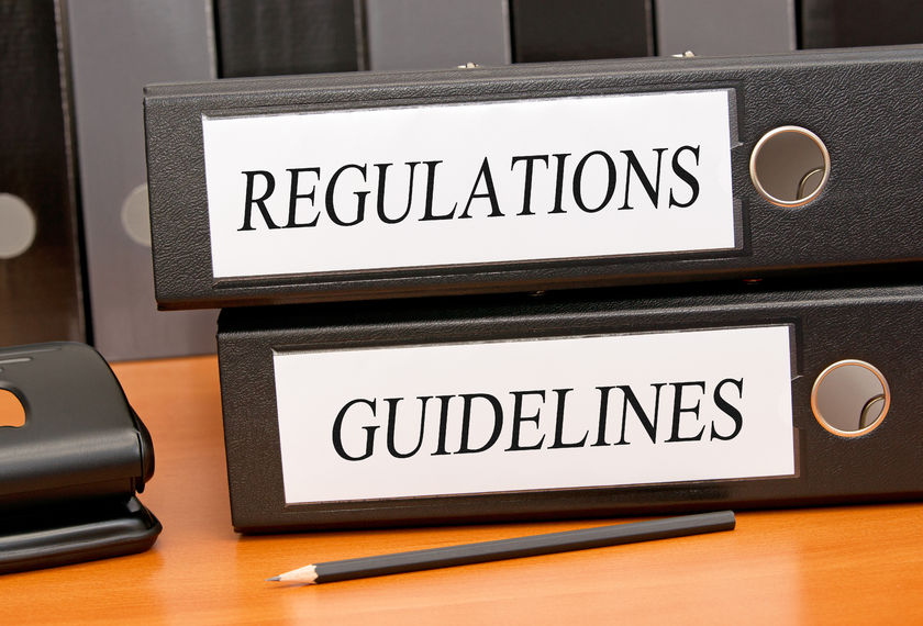 There are Regulations and … Everything Else