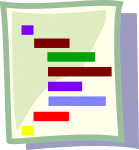 chart poster icon