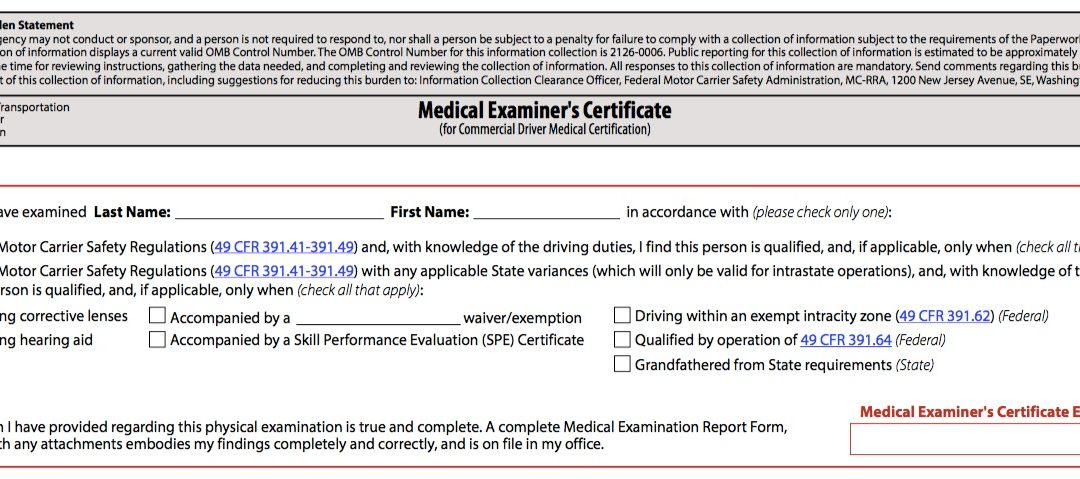 """Confused Regarding Intrastate and CDL """"yes/no"""" Checkboxes?"""